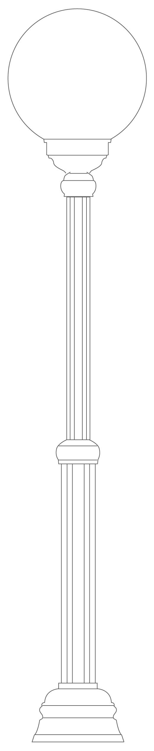 Standleuchte Typ 1133