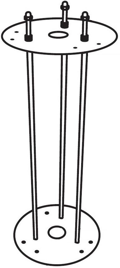 Montagekit zum Eingraben Typ 0202, 0204, 0211